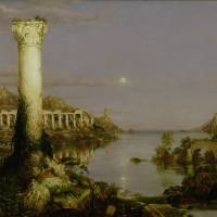 """The Course of Empire: Desolation, 1836"" by fineartmasters"
