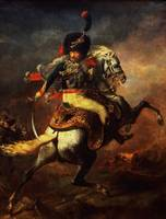 Officer of the Hussars, 1814