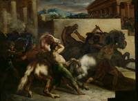 The Wild Horse Race at Rome, c.1817