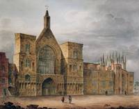 Entrance to Westminster Hall, 1807