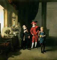 David Garrick with William Burton and John Palmer