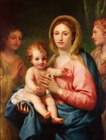 Madonna and Child with Two Angels, 1770-73