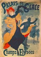 Poster advertising the Palais de Glace on the Cham