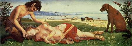 A Satyr Mourning over a Nymph, c.1495