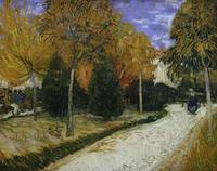 Path in the Park at Arles, 1888