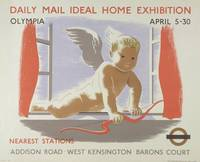 Poster for the Daily Mail Ideal Home Exhibition at