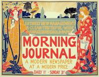 poster advertising the 'Morning Journal, A Modern