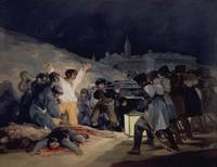 Execution of the Defenders of Madrid, 3rd May, 180
