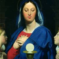 """The Virgin of the Host, 1866"" by fineartmasters"