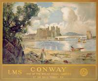 Conway Castle, poster advertising the London, Midl