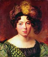 Portrait of a Young Scottish Woman