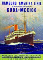 'Cuba - Mexico', poster advertising the Hamburg