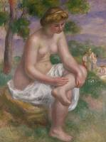 Seated Bather in a Landscape or, Eurydice, 1895 19
