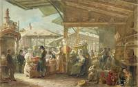 Old Covent Garden Market, 1825