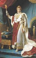 Napoleon I in his coronation robe, c.1804,