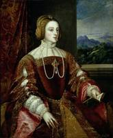 Portrait of the Empress Isabella of Portugal, 1548
