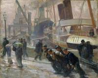 Liverpool Dockers at Dawn, 1903