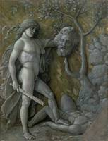 David with the head of Goliath, c.1490-95