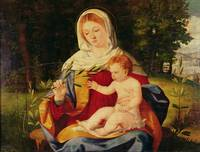 The Virgin and Child with a shoot of Olive, c.1515