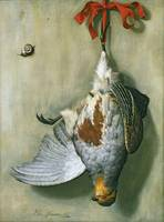 Trompe l'Oeil with Partridge, 1666