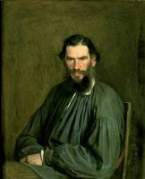 Portrait of Count Lev Nikolaevich Tolstoy