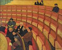 The Upper Circle at the Theatre du Chatelet, 1895