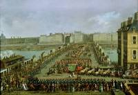 The Imperial Procession Returning to Notre Dame fo