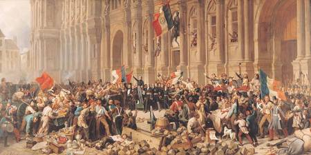 Lamartine rejects the red flag in 1848