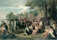 William Penn's Treaty with the Indians in Novembe