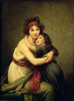 Madame Vigee-Lebrun and her Daughter, Jeanne-Lucie