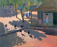 Hens and Chickens, Cuba, 1997