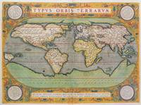 Typus Orbis Terrarum, map of the world, from Ortel