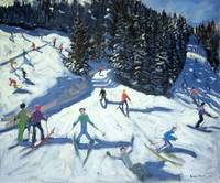Mid-morning on the Piste, 2004