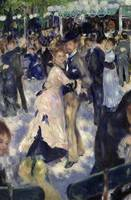 Le Moulin de la Galette, detail of the dancers, 18