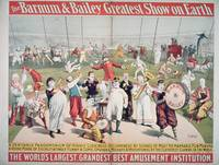 Poster advertising the Barnum and Bailey Greatest