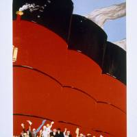 """Poster advertising the RMS Queen Mary"" by fineartmasters"