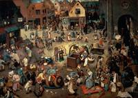 Fight between Carnival and Lent, 1559