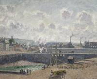 Low Tide at Duquesne Docks, Dieppe, 1902