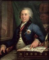 Portrait of the Russian poet Gavril Derzhavin, 179