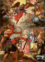 The Martyrdom of St. Ursula, early 17th century