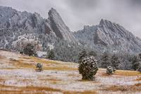 Snow-Dusted-Flatiron-View-Boulder-Colorado