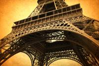 Eiffel Tower - Vintage Textures by Carol Groenen