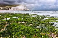 Seven Sisters in East Sussex, England