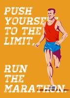 Marathon Push to the Limit Poster
