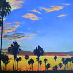Mission Bay Sunset San Diego California by RD Riccoboni