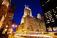 North Michigan Avenue at Night