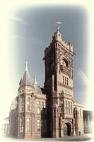 Pierhead Building Cardiff Bay Toned Cream