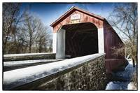 Covered Bridge Over the Swamp Creek