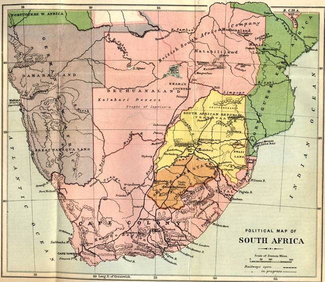 Stunning South Africa Map Ink Drawings And Illustrations For