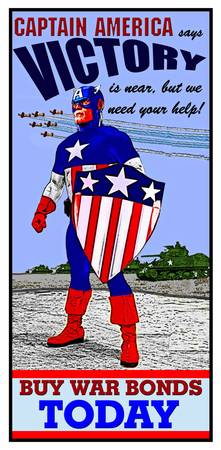 Captain America WWII War Bonds 2